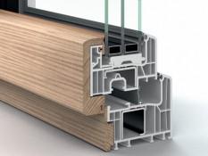 Kunststoff-Holz-Fenster System EFORTE FUSION